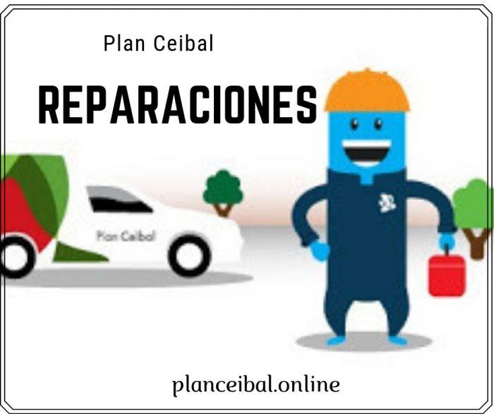Plan Ceibal Reparaciones